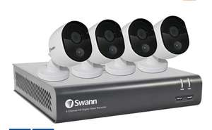 Swann 8 Channel 1TB DVR with 4 x 1080p Full HD with IR Night Vision & PIR Motion Detection Outdoor Security Cameras £179.89 @ Costco