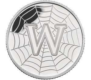 A-Z World Wide Web 2018 UK 10p Silver Proof Coin - £17.50 / £22.50 delivered using code @ The Royal Mint