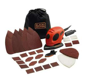 Black & Decker Mouse Sander with Accessories - Now £29.90 delivered @Amazon