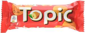 Topic Single Chocolate Bar, 47 g, Pack of 40 - £12.50 Prime / +£4.49 non Prime @ Amazon