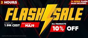 10% off everything for 2 hours starting at 12h00 @ Gamivo
