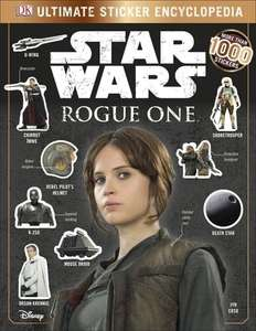Star Wars Rogue One Ultimate Sticker Encyclopedia (Paperback) - £1 / £3.75 delivered @ Waterstones