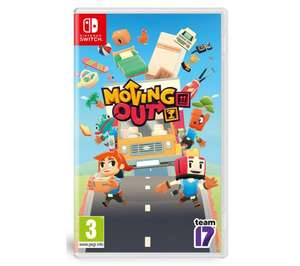 Moving Out on Nintendo Switch - £24.99 delivered @ Currys PC World