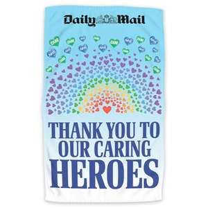 Heroes tea towel free, just pay £2.95 @ Mailshop