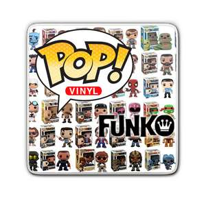 5 Funko pops for £40 - over 600 to choose from @ Pop In A Box