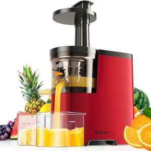 Slow Masticating Juicer Machine Electric Fruit - £64.99 @ Manomano