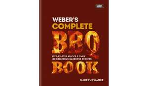 Weber's Complete BBQ Book £9.99 + £3.95 delivery at Argos