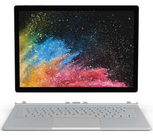 "MICROSOFT 13.5"" Intel® Core™ i5 Surface Book 2 – 256 GB SSD, Platinum £1,049 at Currys PC World"
