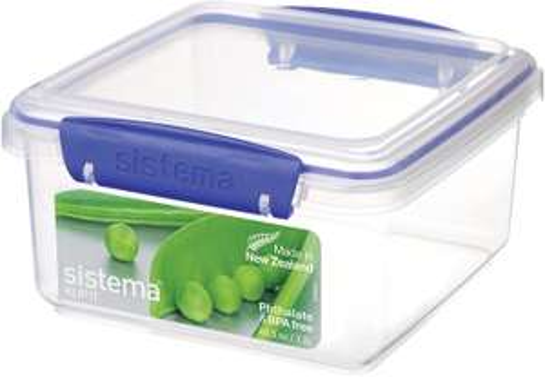 Sistema KLIP IT Food Storage Container, 1.2 Litre - £1.75 at Amazon / (+£4.49 non prime)