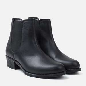 Leather Chelsea Boots £22 at Bells Shoes