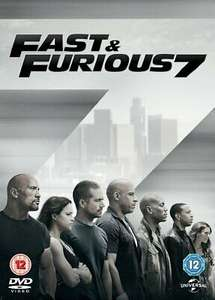 Fast and Furious 7 DVD £3.99 at Argos eBay