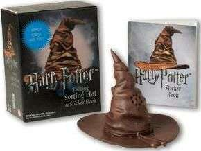 Assorted Harry Potter collectables - Inc. Talking sorting hat, with sticker book - £6.09 with free delivery (others in post)