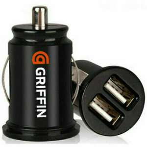 New GRIFFIN Twin USB In Car charger cigarette lighter adapter All Phones Brand £2.39 @ ebay / marmar_578753