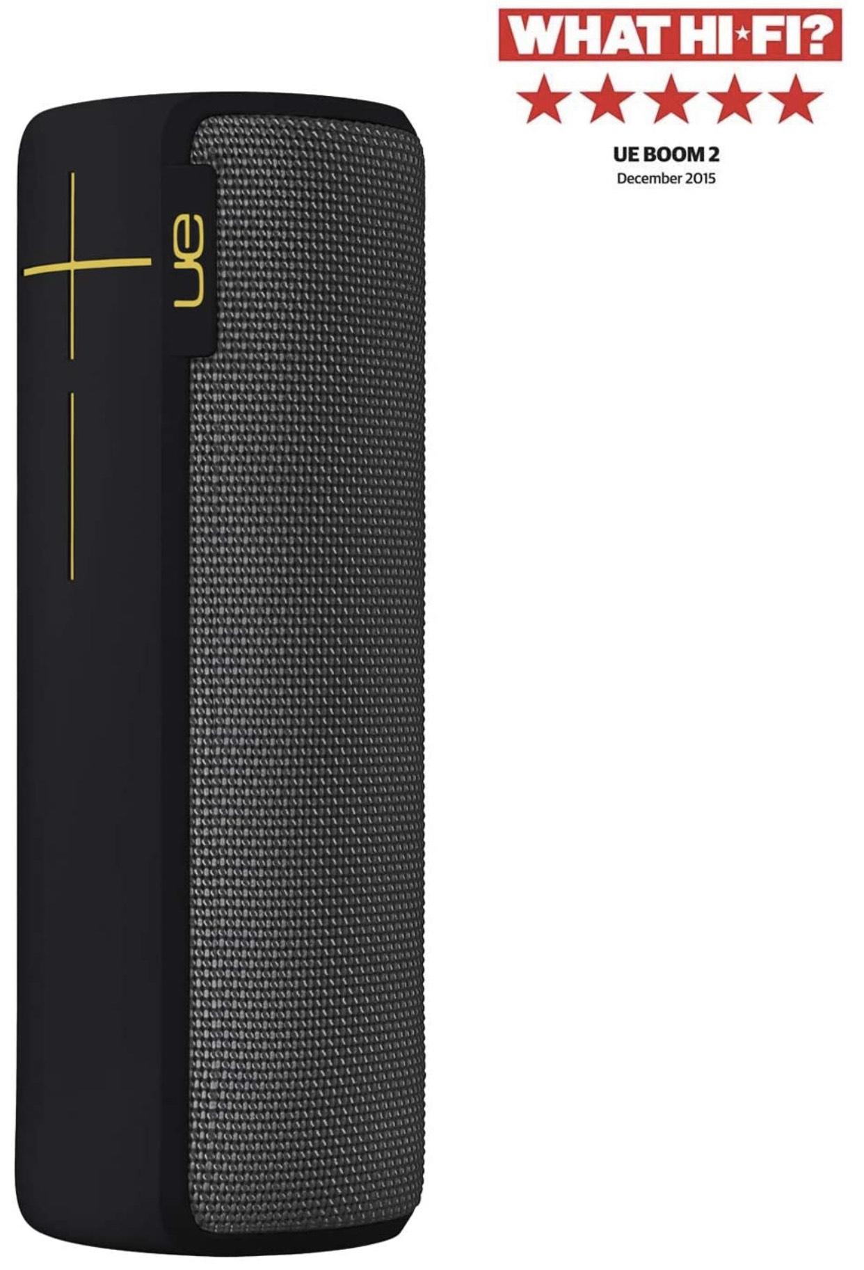 Ultimate Ears BOOM 2 Lite Wireless/Bluetooth Speaker (Waterproof and Shockproof) £60 at Amazon