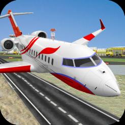 City Airplane Pilot Flight Simulation Temporarily free at iOS App Store