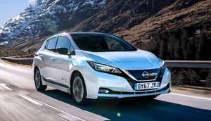 Nissan Leaf 110kwh N-Connecta 40kwh 24 months Personal Leasing £223/m + £2008 initial, 10k miles - Total £7,365 @ Select Car Leasing