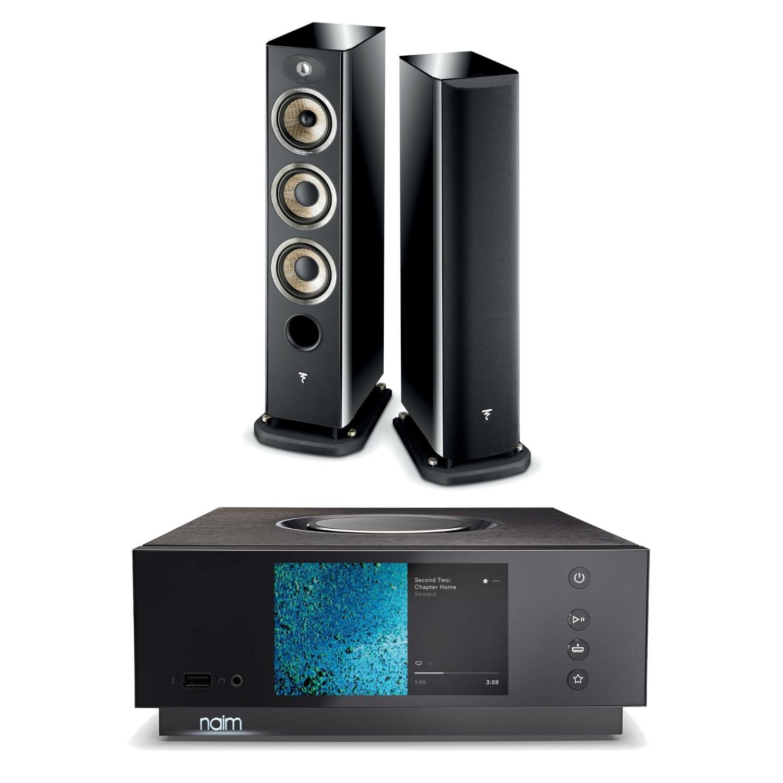 Naim Uniti Atom HDMI Streaming System Focal Aria 926 Speakers £3249 @ Sevenoaks Sound