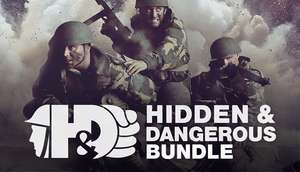Hidden & Dangerous 1 & 2 Bundle for Steam £3.55 with Humble Choice