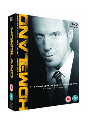 Homeland - Season 1-2 (Blu-ray) £4.89 delivered at Base