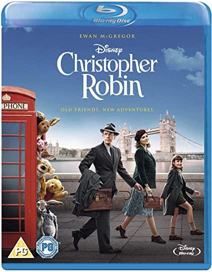 Disney: Christopher Robin Blu-Ray - £4.56 (+£2.99 Non-Prime) @ Amazon