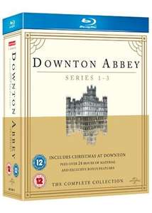 Downton Abbey - Seasons 1-3 (Blu-Ray) £5.49 delivered at Base