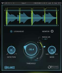 """VST free """"Sibilance"""" plugin by Waves"""