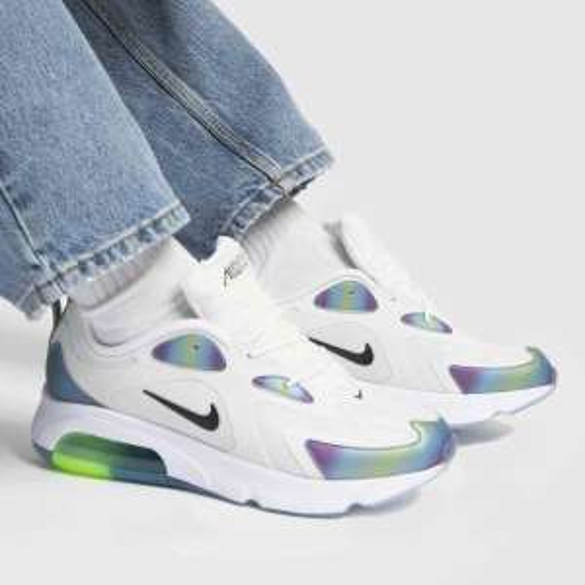 Nike white & pl blue air max 200 trainers £54.99 Schuh