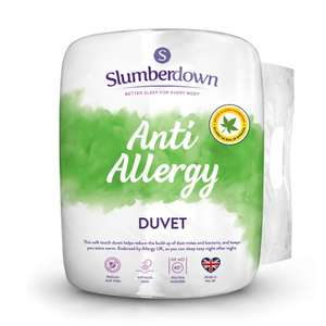 Slumberdown King size duvet 4.5 tog with 2 pillows including delivery £21.39 from sleepseeker