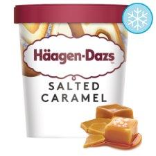 Haagen-Dazs Salted Caramel / Cookies & Cream / Mango & Raspberry / Vanilla Ice Cream 460Ml £2.50 @ Tesco