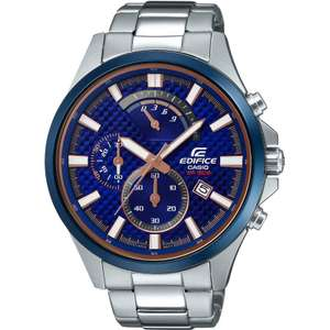 Casio Edifice Retrograde Watch EFV-530DB-2AVUEF £74.25 @ Watch Shop