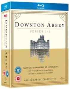 Downton Abbey Series 1-3/Christmas at Downton Abbey Blu-ray £4.88 delivered @ rarewaves-outlet ebay