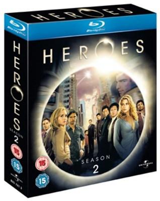 Heroes: Season 2 (4 Disc Blu-Ray Set) £3.39 delivered at Base