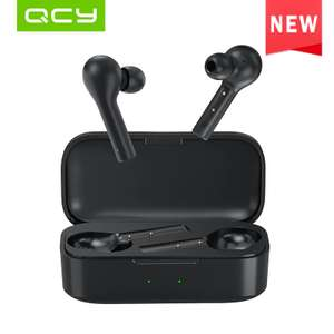 QCY T5 True Wireless Earphones Bluetooth 5.0 Touch Control for £14.63 (£12.18 for new users) @ Aliexpress Deals / QCY official store