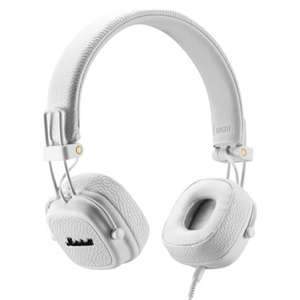 Marshall Major III Wired Headphones in White - £43.99 Delivered @ Currys