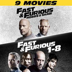 Complete Fast and Furious + Hobbs and Shaw on PS Store (with PS Plus) in HD - £24.99