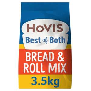 Hovis Best of Both bread mix 3.5kg-13 loaves £7 @ Tesco
