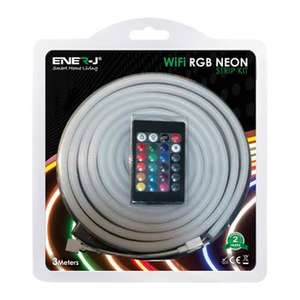 Ener-J Smart WiFi Neon Flex RGB LED Strip £19.99 + £4.79 del at Scan