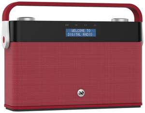 Acoustic Solutions Red RDS FM LCD DAB Radio £24.99 Delivered @ Argos/eBay