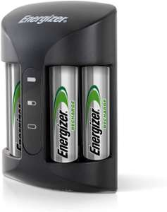 Energizer Battery Charger for AA and AAA Batteries (4 AA Batteries Included) £16.50 @ Amazon Prime / £20.99 Non Prime