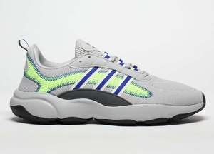 Adidas Haiwee Trainers now £24.99 sizes 7 up to 12 delivery is £3 but add socks for £2.99 for Free delivery @ Schuh