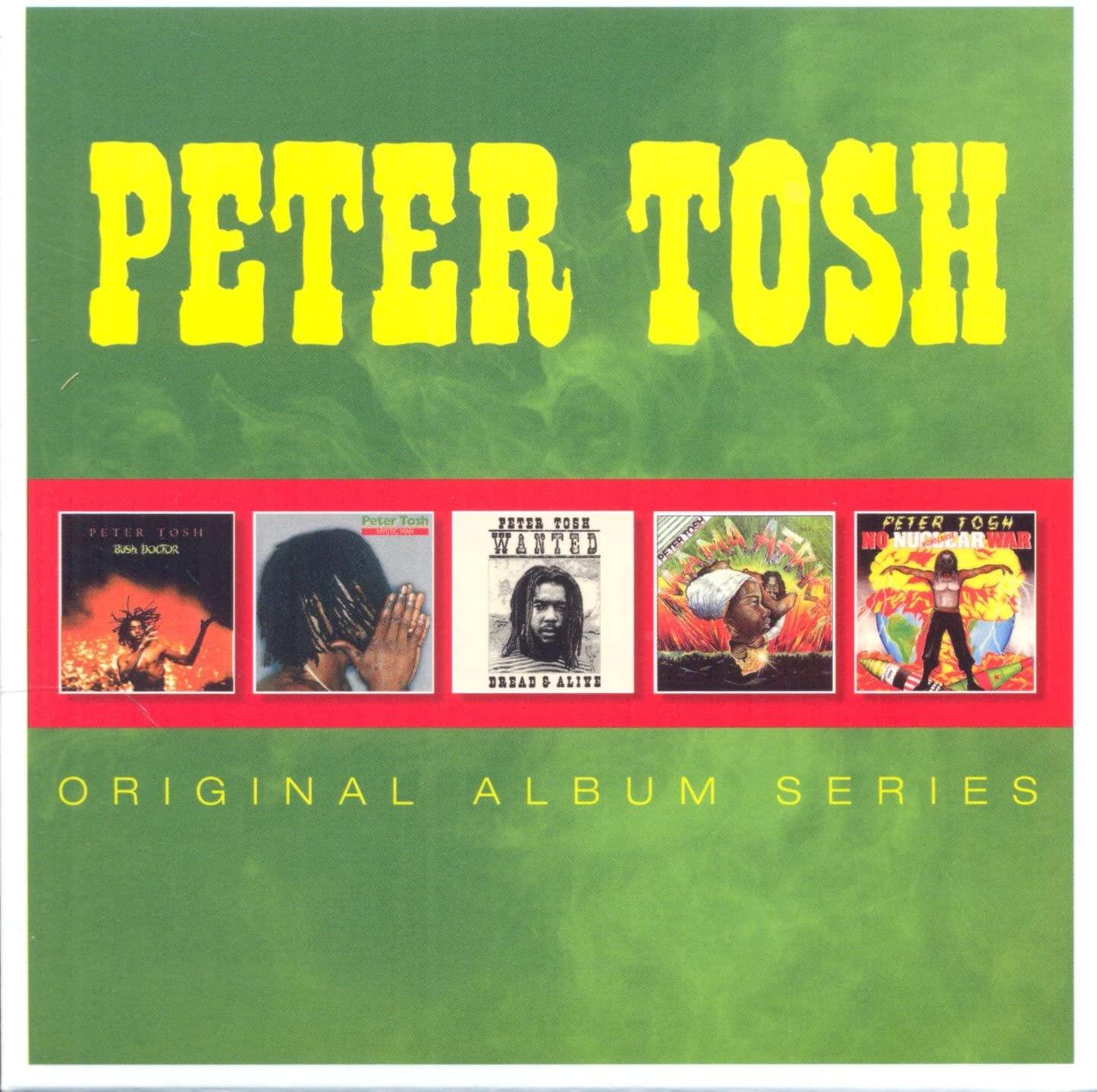 Peter Tosh - Original Album Series (5 CD Box Set with FREE MP3 of the albums) £6.99 + 99p NP @ Amazon