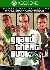 Grand Theft Auto V: Premium Online Edition & Whale Shark Card Bundle (Xbox One) - instant digital download - £17.50 at Shopplay