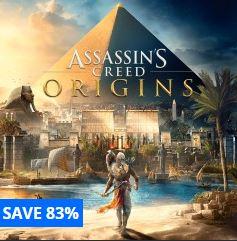 Assassin's Creed Origins £7.40 for PS4 @ PSN Store Turkey [Using Revolut Disposable Visa]