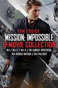 Mission Impossible 6 Movie Collection 4K £24 to Own on iTunes US