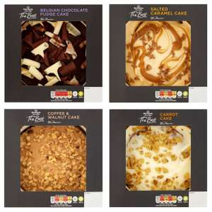 Morrisons The Best Cakes (Chocolate / Salted Caramel / Coffee / Carrot) for £2