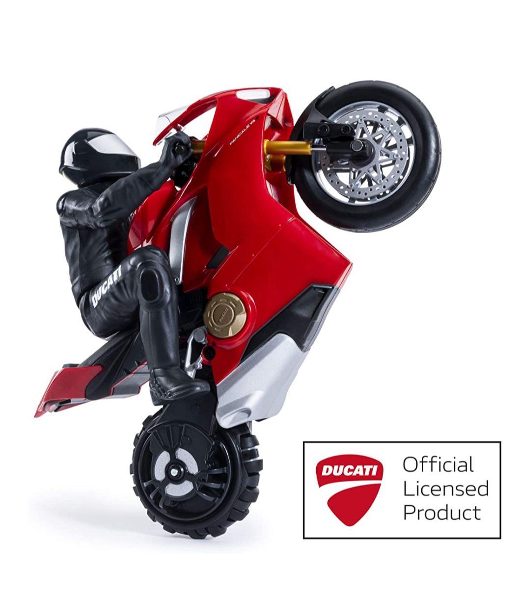 Upriser 6053427 Upriser Ducati, Authentic Panigale V4 S Remote Control Motorcycle, 1:6 Scale, Multicolour £37.94 @ Amazon