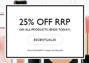 25% off Everything @ Escentual