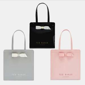Large Ted Baker Bow detail icon bags now £20 + Free delivery @ Ted Baker