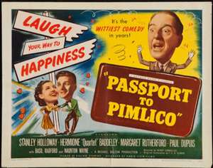 Passport to Pimlico (1949) HD £3.99 @ itunes