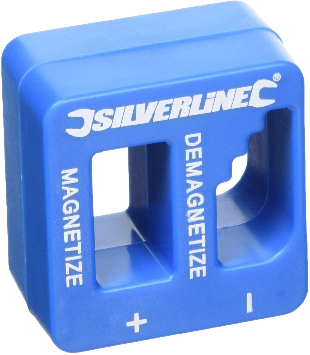 Silverline 245116 Magnetiser Demagnetiser 50 x 50 x 30 mm - £4.68 Prime / +£4.49 non Prime @ Amazon